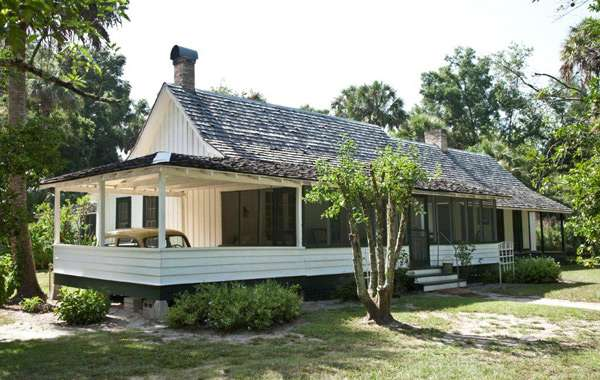 The Marjorie Kinnan Rawlings Home at Marjorie Kinnan Rawlings Historic State Park