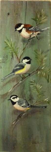 Marilyn White - 2 birds