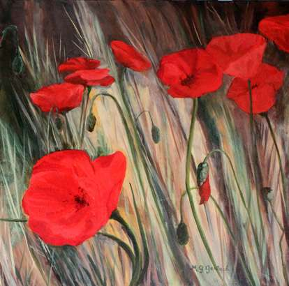 Mary Gerlach Poppies