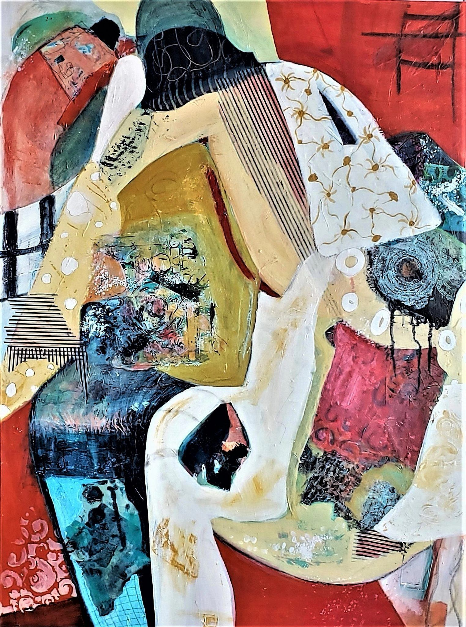 Smith.The Looking Glass. Mixed Media. 40x30