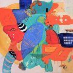 Smith_Katty_Moon Dreams_Mixed Media_30x40_$1,200