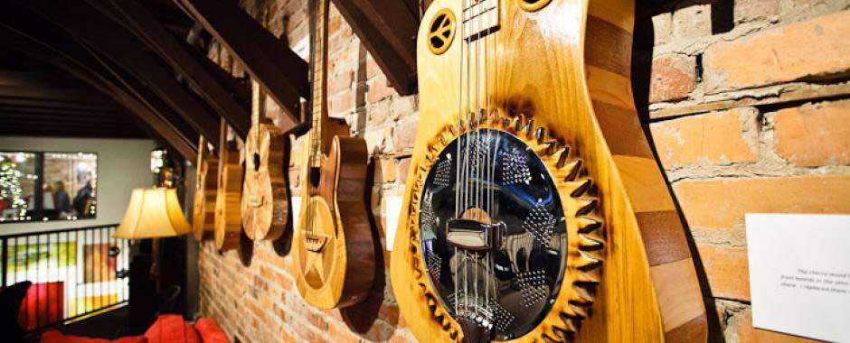 Guitars Wall space
