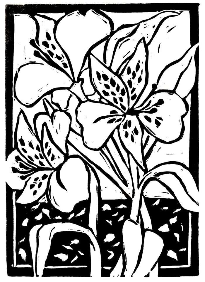 BOTANICAL PRINTMAKING with Jenna Weston