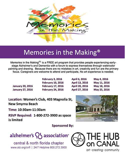 Memories In The Making Club Flyer