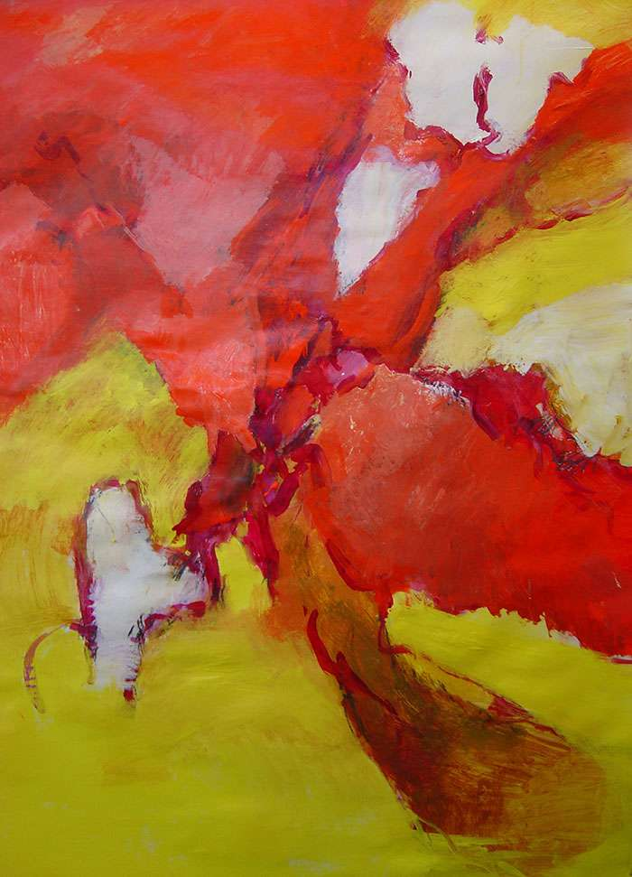 PAINTING FROM THE HEART with Trish Vevera