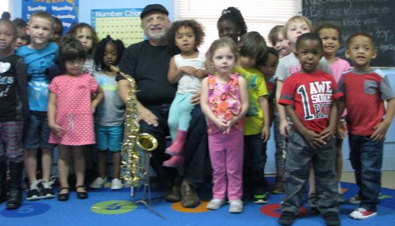Frank Ferrante and kids