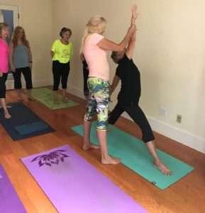 Gwen Reader Yoga instructor