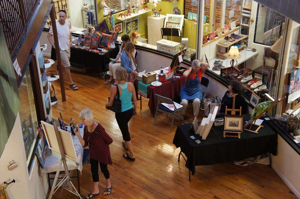 1st Saturday & Art Connections Market at The Hub on Canal