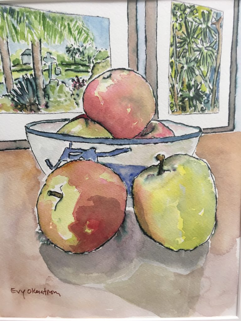 Evy Okerstrom Watercolor
