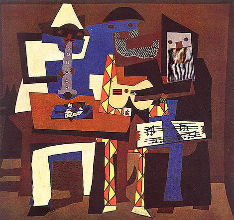Picasso 3 Musicians