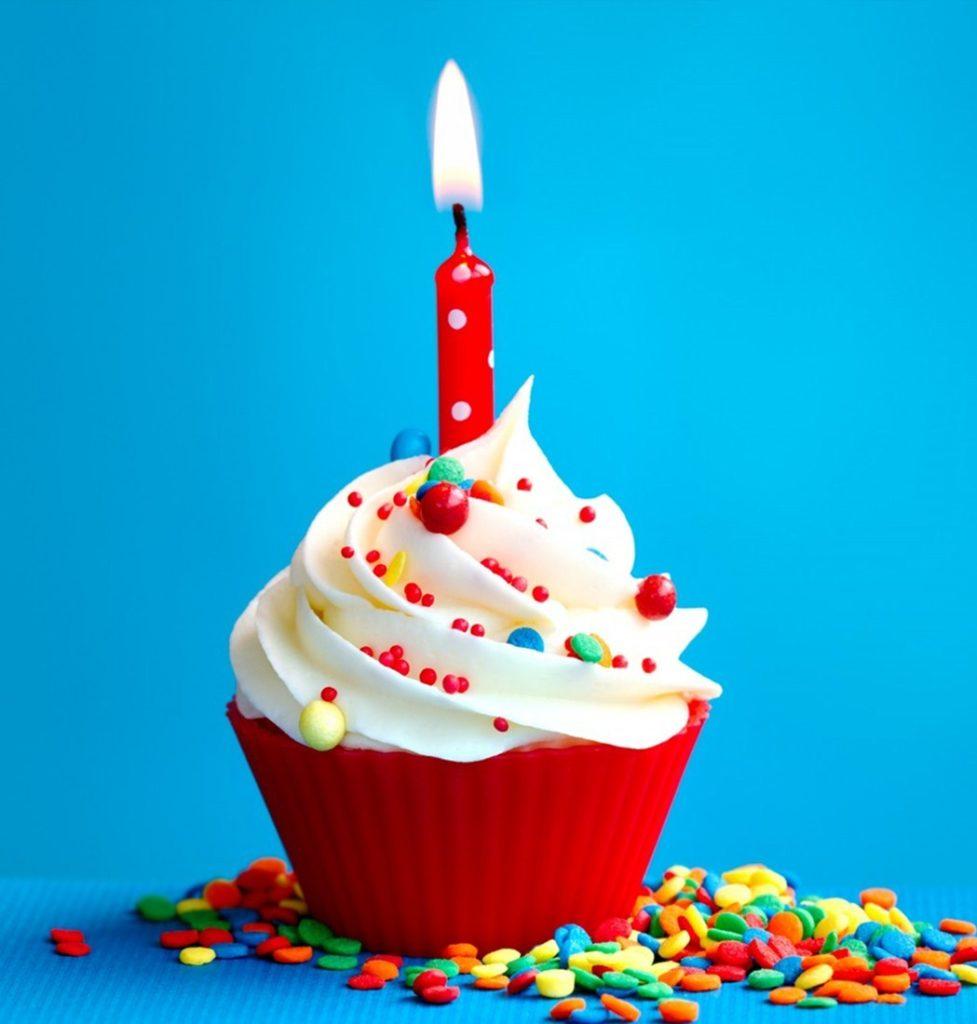 Calendar Birthday Cake