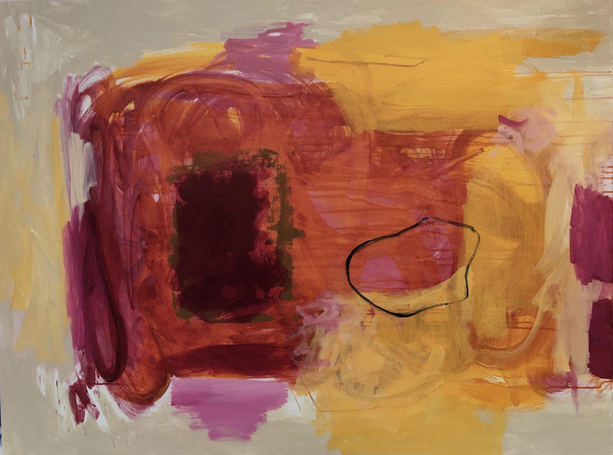 Mahoney, Martha_Who's That Knocking At My Door__Acrylic On Canvas_36x48