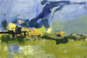 Artist Karlene McConnell - On exhibit April 2017 at The Hub on Canal