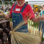 Broom Making at Bakersville Richard Moore 02