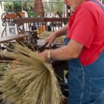 Broom Making at Bakersville Richard Moore 04