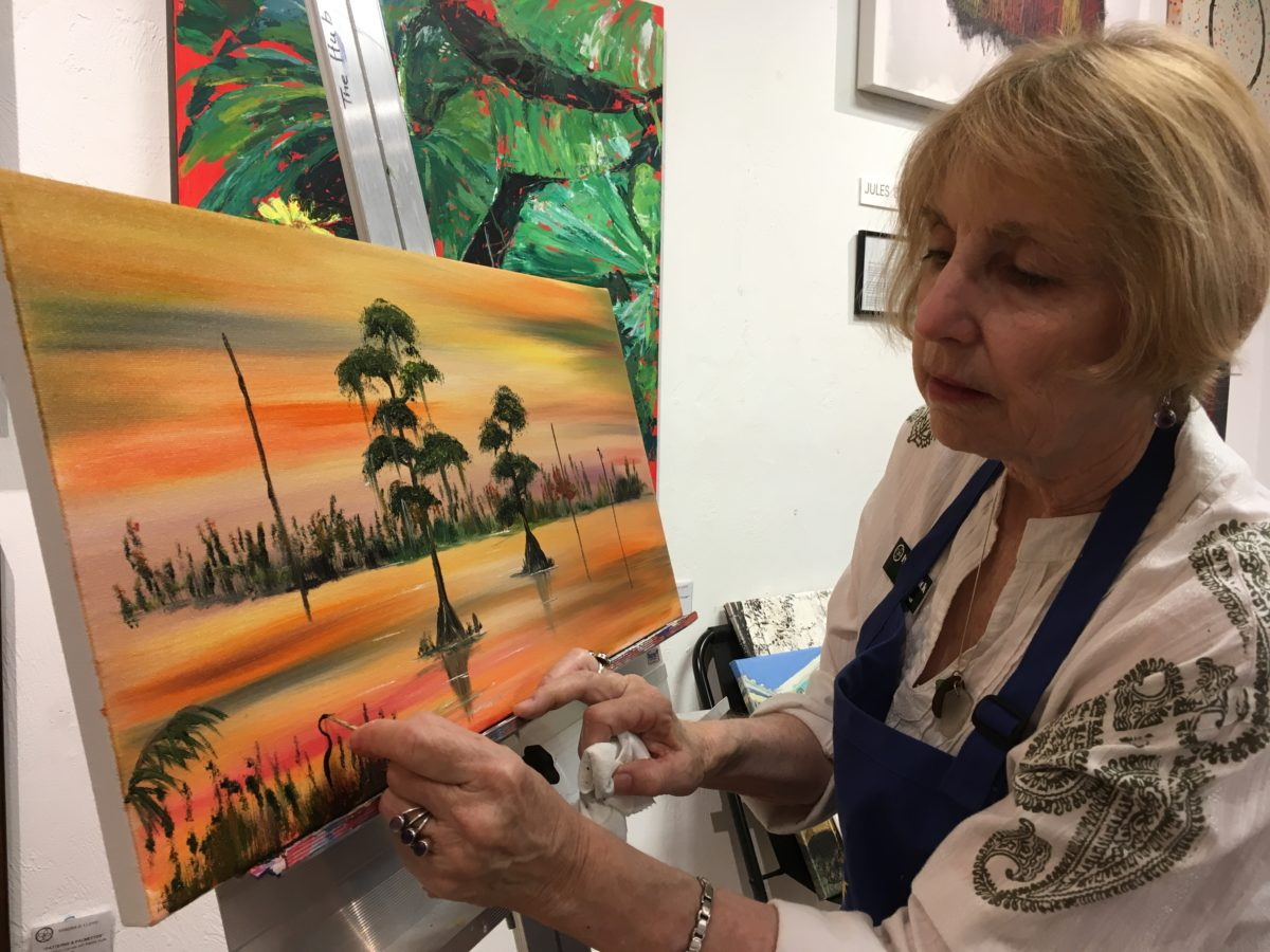 Lynn Herrick Paints in the Spirit of The Highwaymen