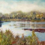 Renewed -Pastel over Watercolor - Carolyn Land