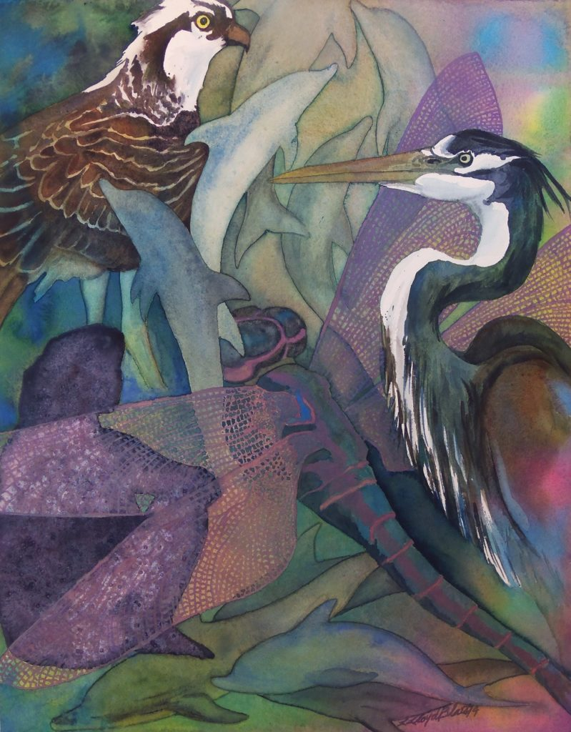 Lisa Blais - Dragonfly - Watercolor Workshop