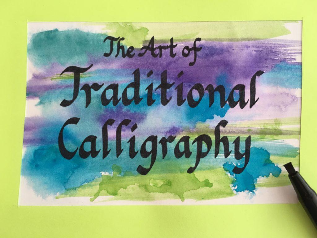 Lynda Chandler Calligraphy