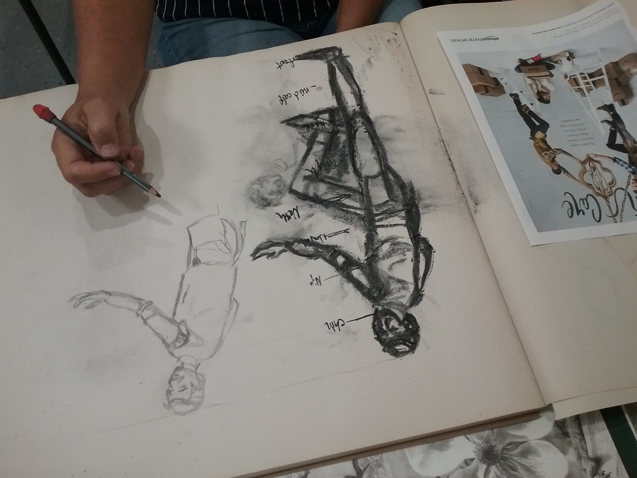 Quick Draw - 2 Hour Drop-In Drawing Class with Heather Pastor