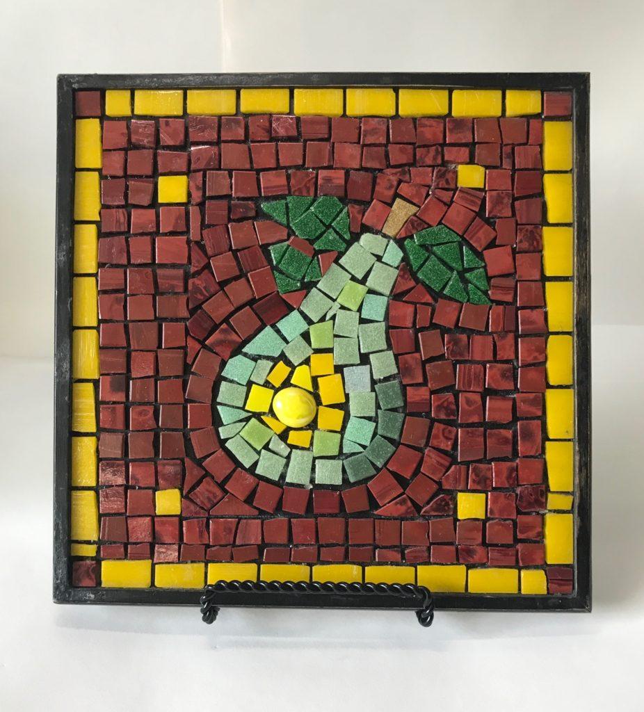 Pear Tile - Vera Rekstad - Mosaic Basics