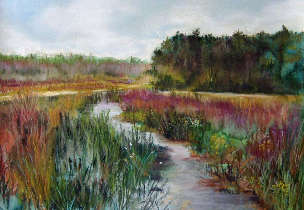 Carolyn Land Landscape Painting Class