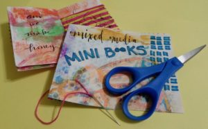 Mixed Media Mini Books with MK Shaw