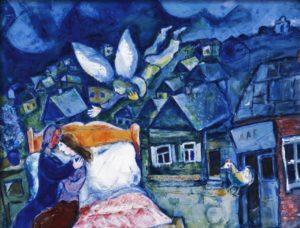 the dream - Chagall - Elodie Richard