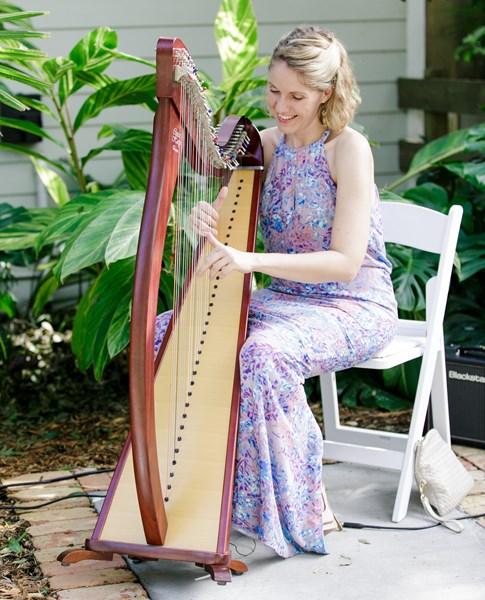 Irish Harpist Bridget Highet