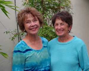 Artists Linda Hoffmeister and Katty Smith