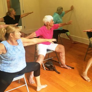 Chair Yoga with Holly Janda