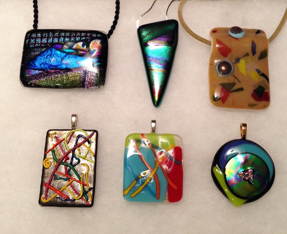 Vera Rekstad Fused Glass Jewelry