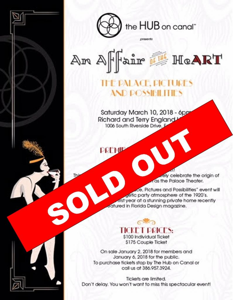 SOLD OUT - An Affair of The HeART 2018
