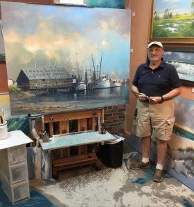 Frank Ferrante Oil Painting