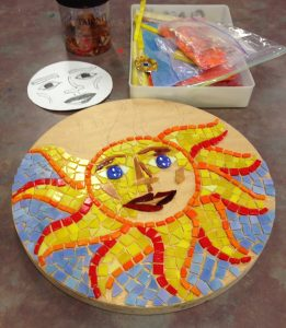 Mosaics Beginners to Intermediate with Vera Rekstad