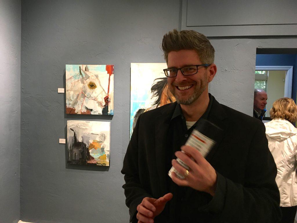 Charles Elliott,abstract painter