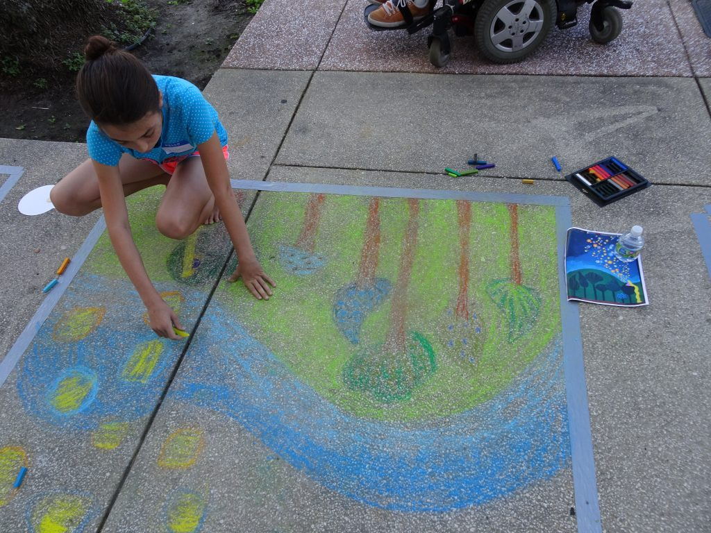 CHALK IT UP! Sidewalk Chalk Art Competition