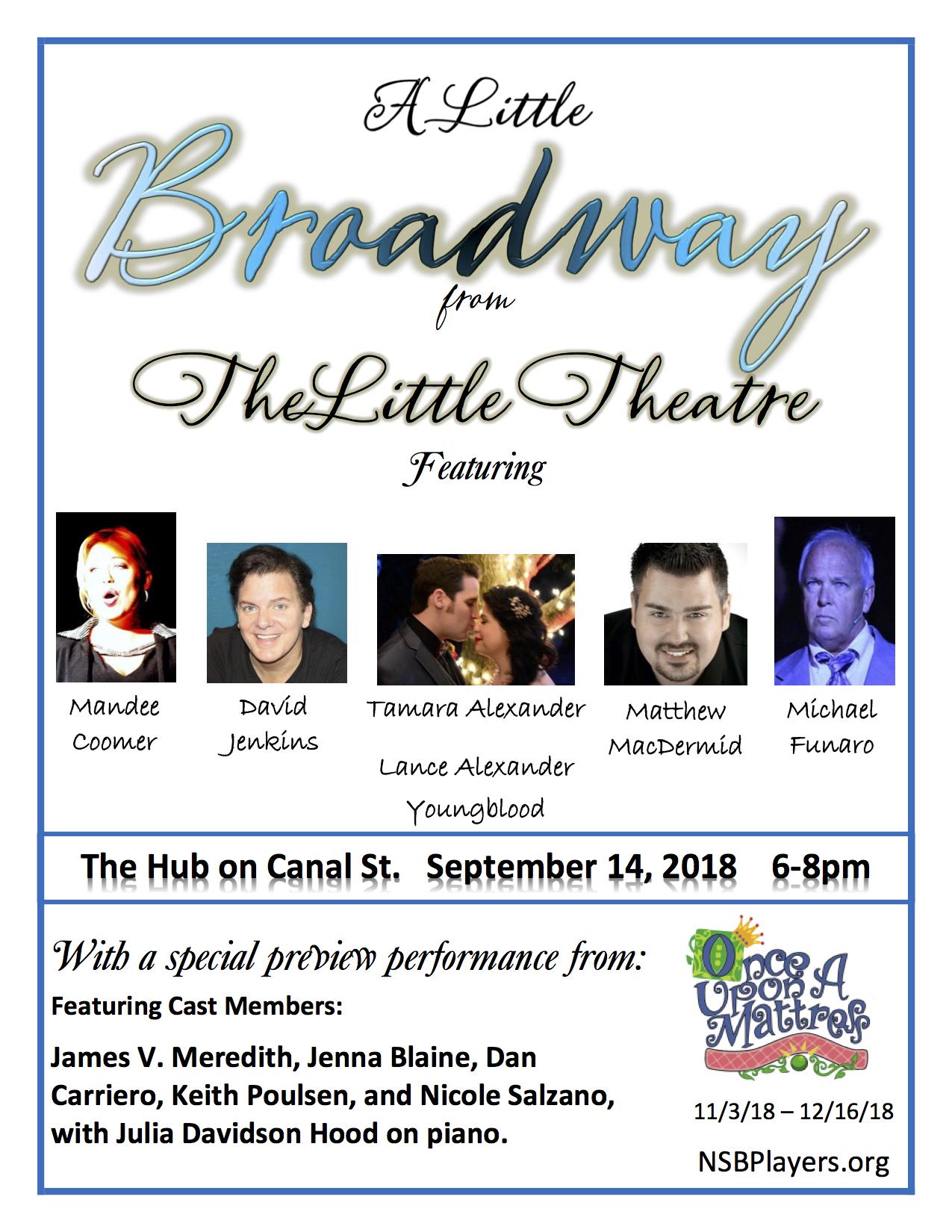 Little Theatre Hub Promo Flyer