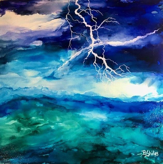 Becki Shiles Artist Stormy Monday
