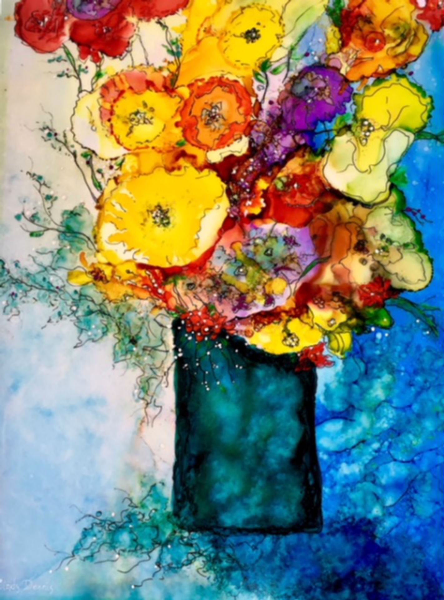 Cindy Dennis Dec 2018 Talk Art