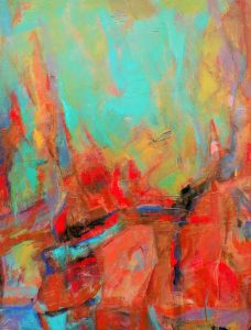 Abbott, Debe_A Song for Emily_Acrylic_36 X 48
