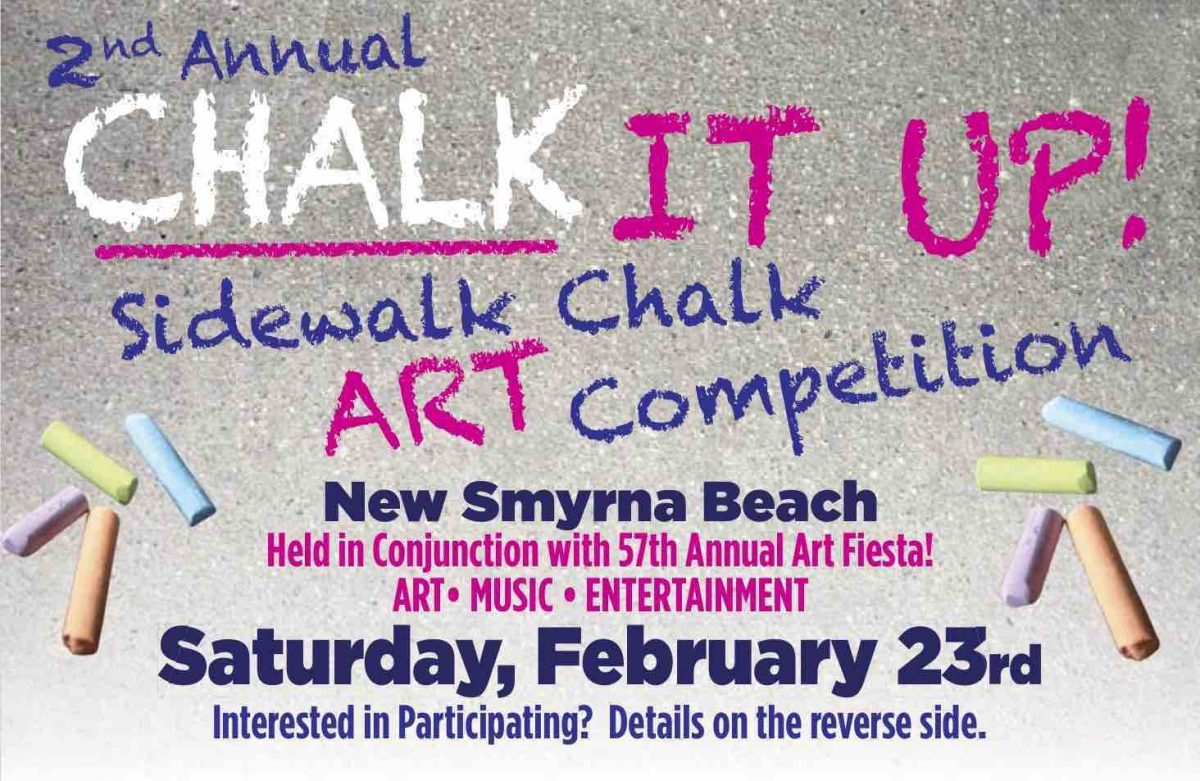 2nd Annual Chalk It Up! Sidewalk Chalk Competition