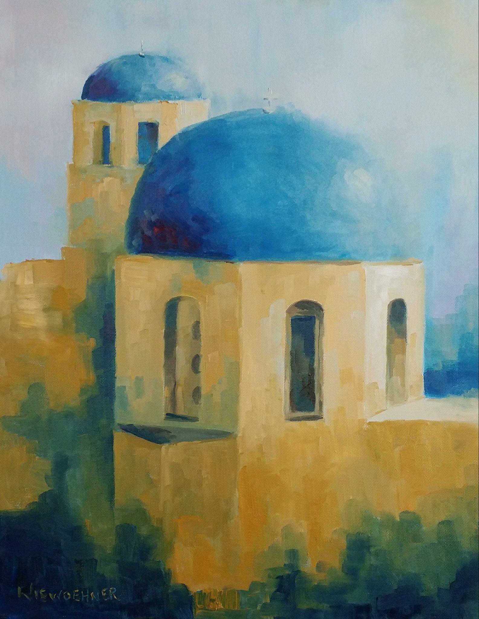 Santorini Revisited Ev Niewoehner January 2019 Exhibition