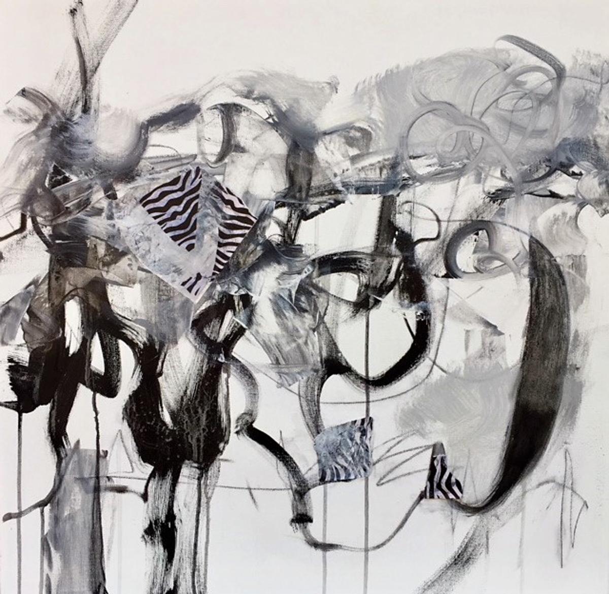 Zebra Tracks by Cheri Erdman