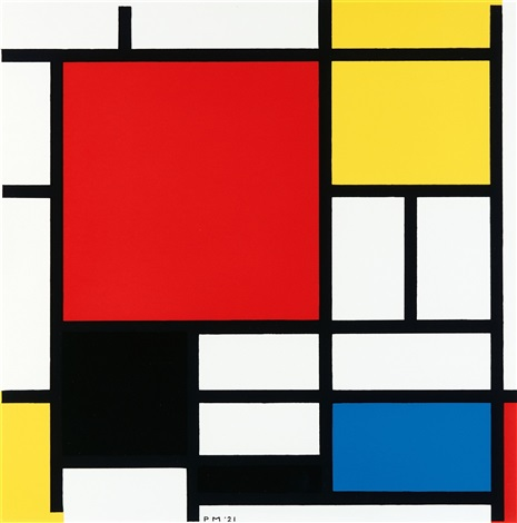 Mondrian Mimic the Masters