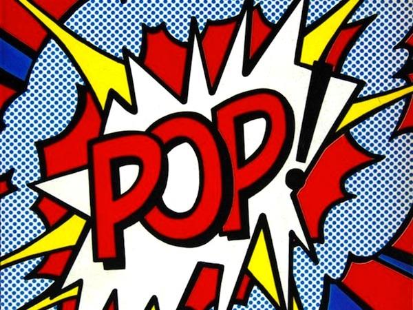 POP - Roy Lichtenstein Mimic the Masters