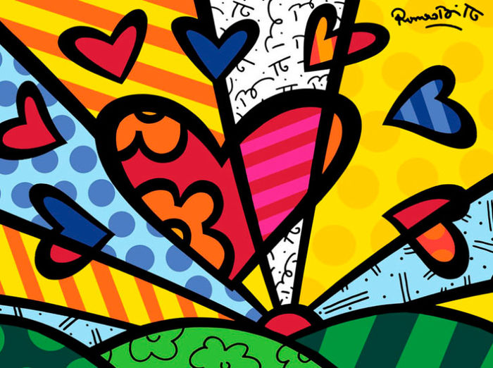 britto heart Mimic The Masters 2/16