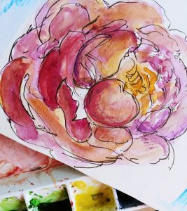 Contemporary Watercolor Sketching with Stacey Fletcher