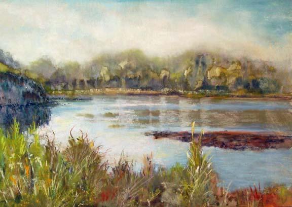 Carolyn Land April Talk Art