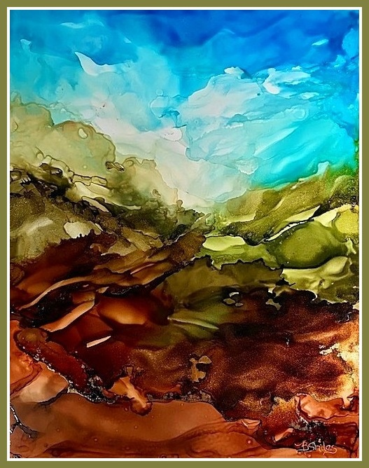 The Beauty and Flow of Alcohol Ink with Becki Shiles